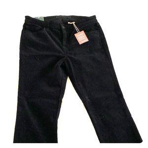 J Brand Stretch Velvet Skinny Heans